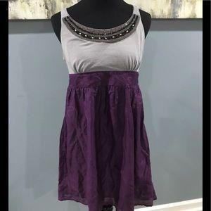 NWT Xhilaration dress with beaded neckline sz L